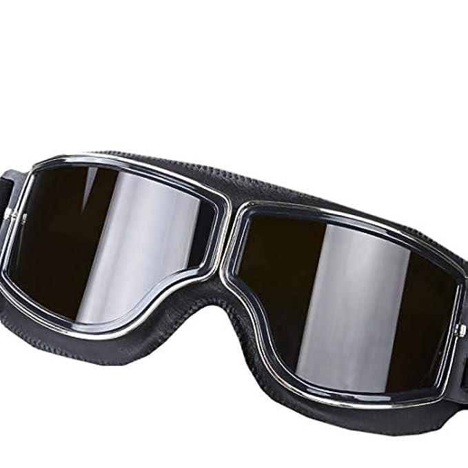 Hemotrade Equipaggiati Esterni Per Con Silver Polarizzati Moto color Donna Da Retro Occhiali Sole
