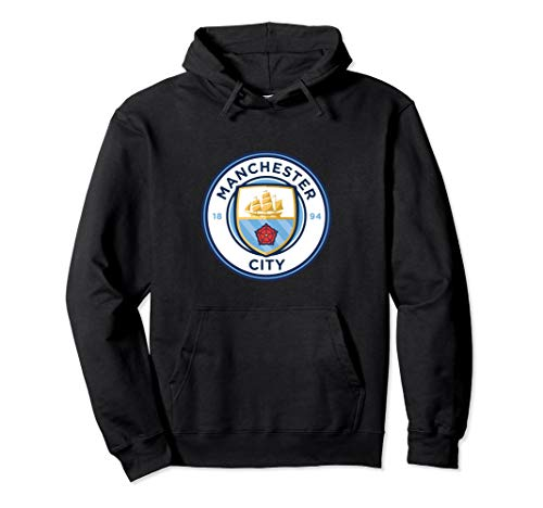 Manchester City - Colour crest pullover hoodie