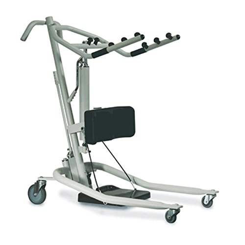(Stand Up Patient lift - Get-U-Up Hydraulic Stand Up Lift - Invacare GHS350 with Invacare Reliant Standing Sling - Extra Large R131)