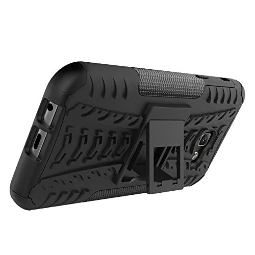 Galaxy A5 2017 Funda, Valenth Rugged híbrido de doble capa de protección de la parte posterior de la caja a prueba de golpes para Samsung Galaxy A5 2017 3# A7 2017