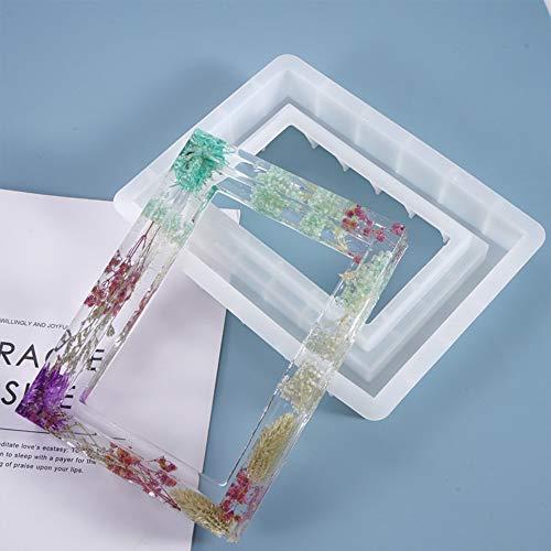 Molde de silicona para marcos de fotos de resina