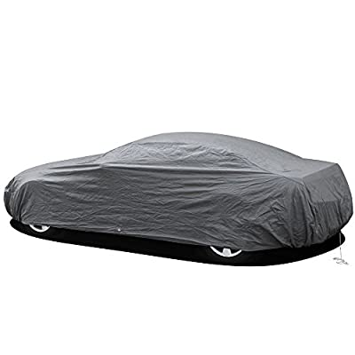 OxGord Premium Car Cover - In-Door 2 Layers - Economical Alternative - Ready-Fit / Semi Glove Fit