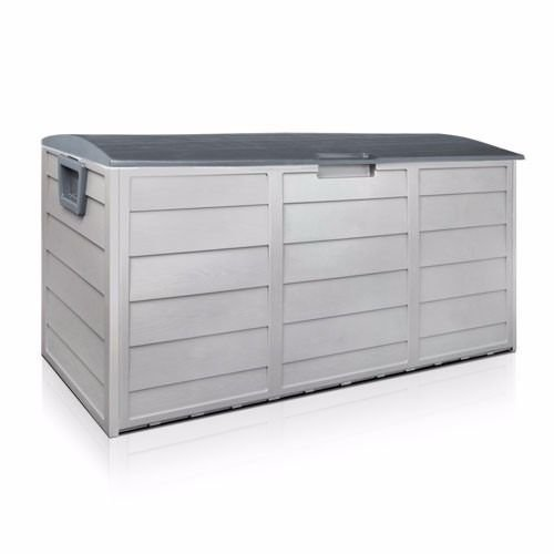 Outdoor Plastic Patio Deck Box All Weather Large Storage Cabinet Container Organizer by Netsc19