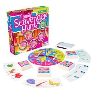 Kid's and Family Party Game - Scavenger Hunt - Family Scavenger Hunt in a Box - Indoor and Outdoor Fun for Kids and Adults -