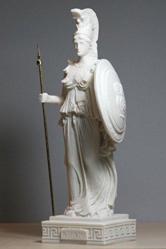 Bronze Hospitable Griechisch Bronze Marmor Kunst Göttin Wisdom Athena God Of War Statue Skulptur Antiquitäten & Kunst