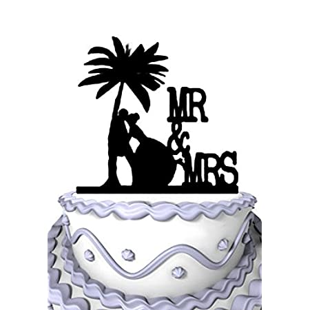 41LvWuq1bPL._SS450_ The Best Palm Tree Wedding Cake Toppers