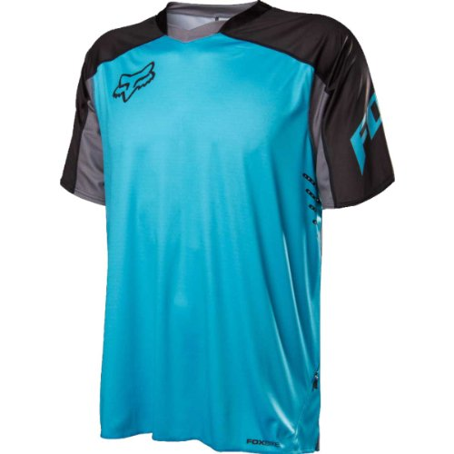 Fox Head Men's Attack Jersey, Light Blue, Large