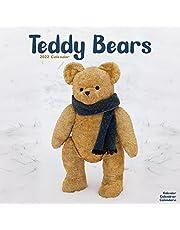 Teddy Bear Calendar - Americana Wall Calendar - Americana Calendars 2021-2022 - 16 Month Premium Wall Calendars