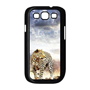 Samsung Galaxy S3 I9300 Plum flower leopard Phone Back Case Personalized Art Print Design Hard Shell Protection TY096499