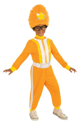 Rubies Yo Gabba Gabba DJ Lance Child's Costume, 1-2 Toddler (Muno Toddler Costumes)