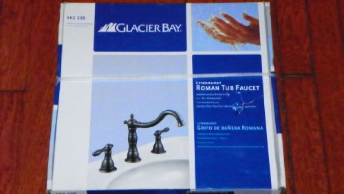 Glacier Bay Lyndhurst 2-handle Deck-mount Roman Tub Faucet in Mediterranean Bronze - 2 Valve Deck Mount Tub