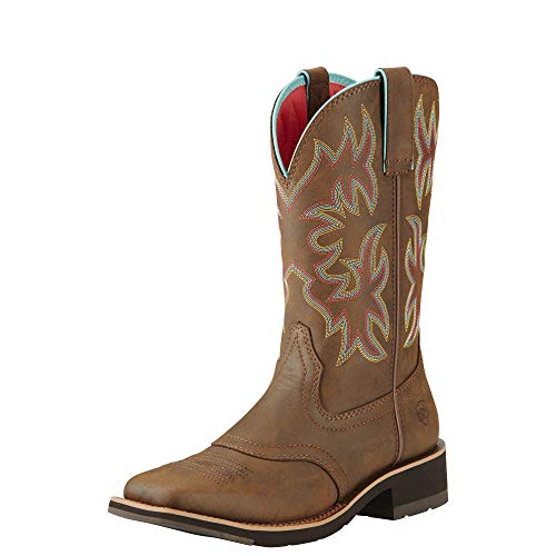 Ariat Women's Delilah Work Boot, Toasted Brown, 8 B US (Boots Ariat Women)