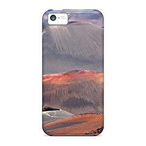 meilz aiaiFor iphone 5/5s Protector Cases Volcanic Mountains Phone Coversmeilz aiai