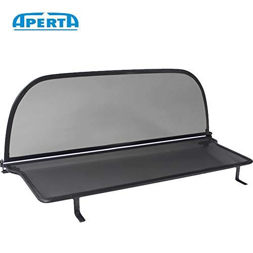 Aperta Black winddeflector for Chrysler PT Cruiser PT   Tailor Made Windblocker   Windstopper Chrysler Convertible ()