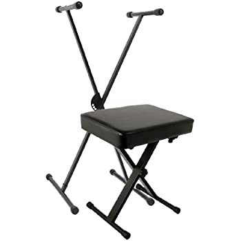 Amazon Com World Tour Single X Keyboard Stand And Deluxe