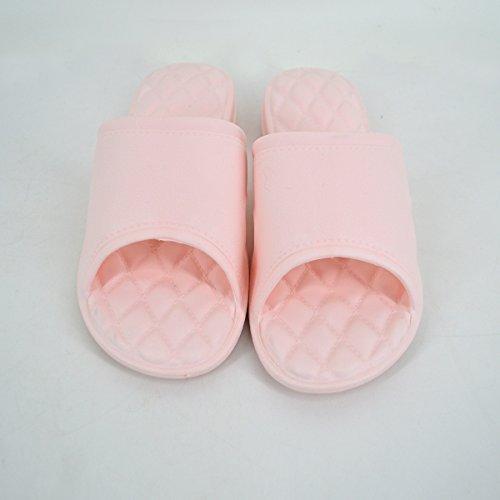 Sandals Rebecca Skid Slippers Proof Bathroom amp; Slipper Shower Pink Women Indoor Thicken Couple Men Soft vFwrZ0v