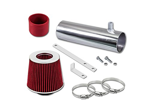 Velocity Concepts Red Short Ram Air Intake Kit + FILTER 94-96 Chevrolet Impala SS Caprice 4.3L / 5.7L (Velocity Air Filter)