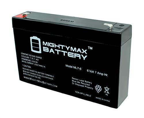Mighty Max Battery 6V 7Ah SLA Replacement Battery for Hello Kitty Sports Car Brand Product