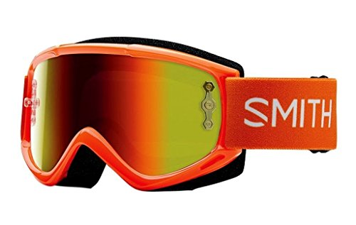 Smith Optics Fuel V.1 Max M Adult Off-Road Motorcycle Goggles Eyewear - Orange/Red / One Size Fits All (Smith Goggles Fuel Goggle)