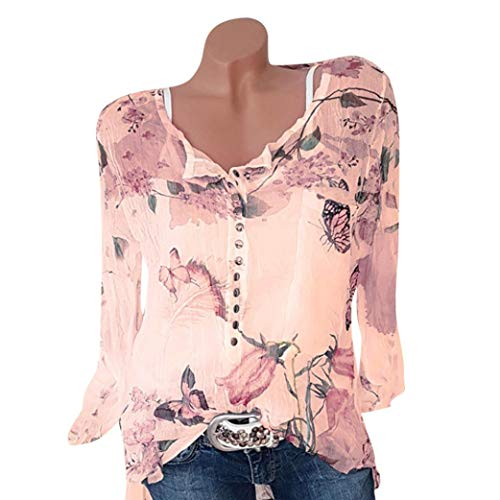 Seaintheson Sexy Women's Tops Clearance, Women Casual Chiffon