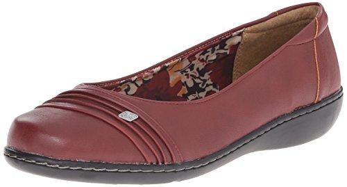 Soft Style by Hush Puppies Jordyn Grande Piel Zapatos Planos