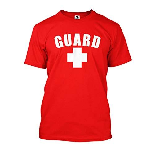 Guard T-Shirt (Red, Medium)