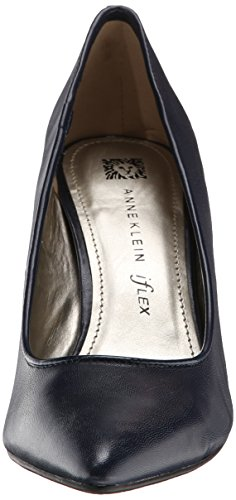 Women's Dress Klein Pump Falicia Leather Navy Anne zHUw5qBH