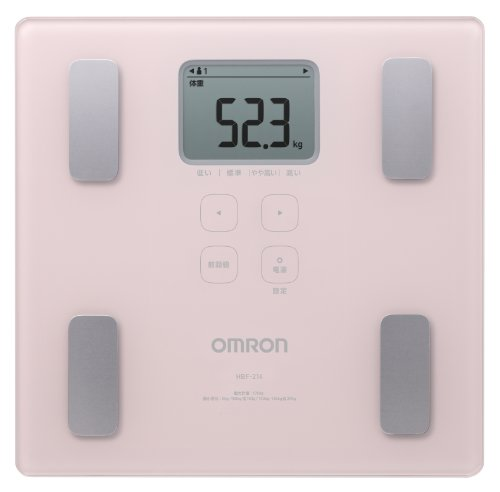 Omron KARADA Scan Body Composition & Scale | HBF-214-PK (Japanese Import) by Omron