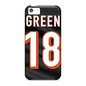 ColtonMorrill Iphone 5c Scratch Protection Phone Case Allow Personal Design HD Cincinnati Bengals Pictures [wkZ12440MDnG]