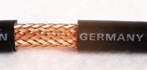 /Bidatong/ /25/m rollo/ /RG213//ubx/ /Cable coaxial/ /Fabricado en Alemania. Precio Base 1,79/Euro//m/