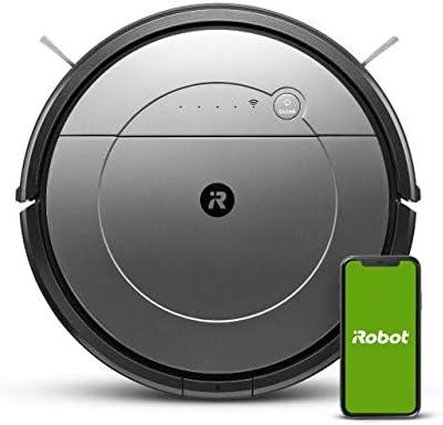 Robot Aspirador y friegasuelos iRobot Roomba Combo Conectado a WiFi con Diferentes Modo de Limpieza - Aspiración Potente - Sugerencias Personalizadas - Compatibilidad con los asistentes de Voz: Amazon.es: Hogar