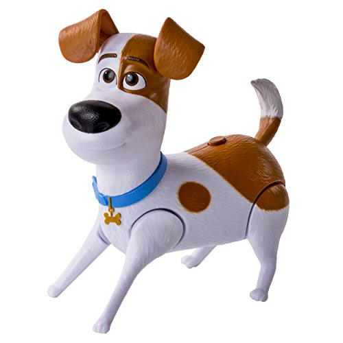 The Secret Life of Pets - Max Walking Talking Pets Figure (Best Friend Max Walking Dog)