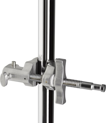 Kupo 4-Inch (10cm) Super Viser Clamp with Hex Receiver - End Jaw, KG601512 (NLA)