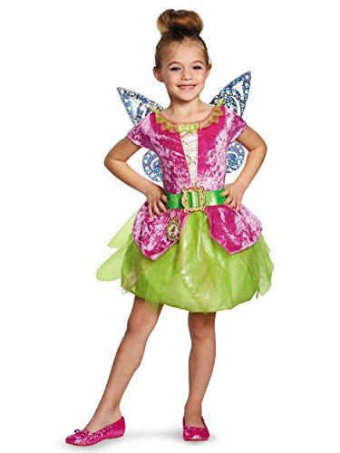 Disney's The Pirate Fairy Pirate Tinkerbell Classic Girls Costume, Large/10-12]()