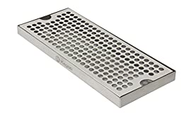 Kegco KC DP-125 Beer Drip Tray Surface No Drain Mount, 12\