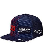 Red Bull Racing 2321901 Max Verstappen Driver Pet, Kinderen Een Maat - Officiële Kleding
