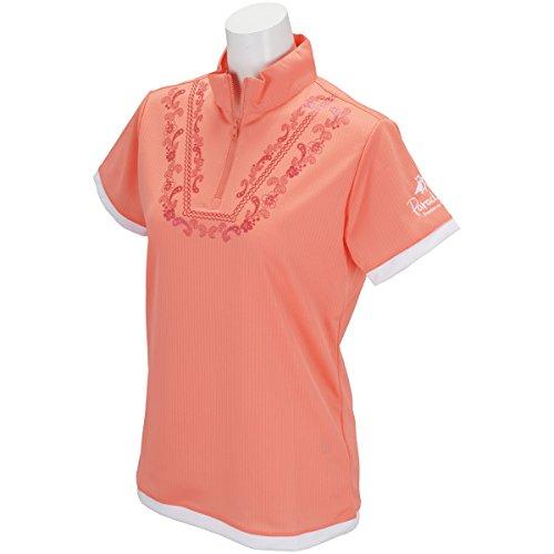 ブリヂストン BRIDGESTONE ゴルフウェア レディース PARADISO パラディーゾ 半袖ハーフジップシャツ JSL36A