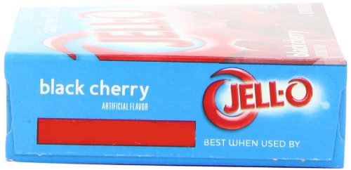 Jell-O Sugar-Free Gelatin Dessert, Black Cherry, 0.6-Ounce Boxes (Pack of 24) by Jell-O (Image #7)