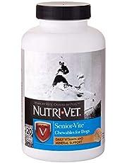 Nutri-Vet Senior-Vite masticables para Perros