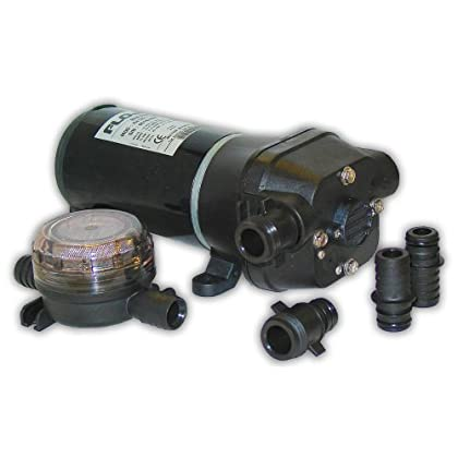 Image of Bilge Pumps FloJet 04125114A Marine Freshwater Bilge Pump (5-GPM, 12-Volt, 11-Amp)