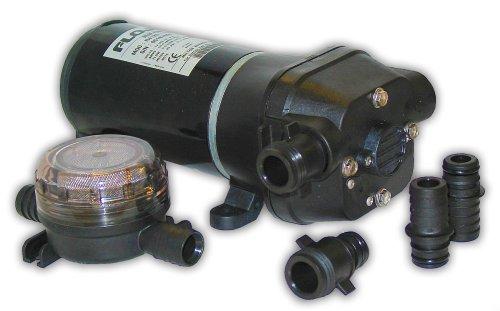 FloJet 04125114A Marine Freshwater Bilge Pump (5-GPM, 12-Volt, 11-Amp) ()