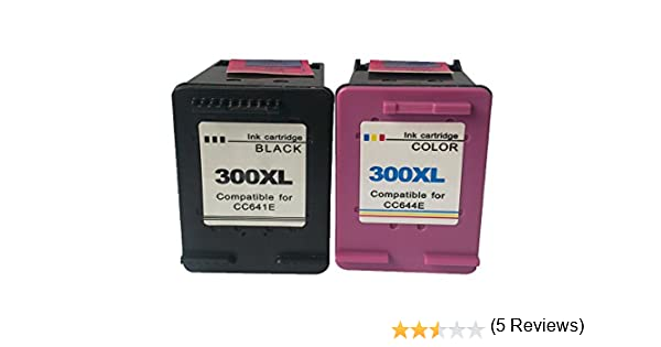 4inx cartuchos de tinta para HP 300XL (CC641EE CC644EE) Cartridge ...