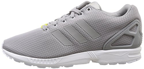 Unisexe Flux Zx Chaussures Adidas argent Adultes Multicolores Blanc xwz8IIq