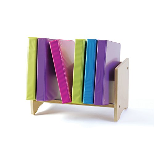 Book and Binder Rack - Book Display and Storage shelf - School Office Furniture (Guidecraft Bookshelf)