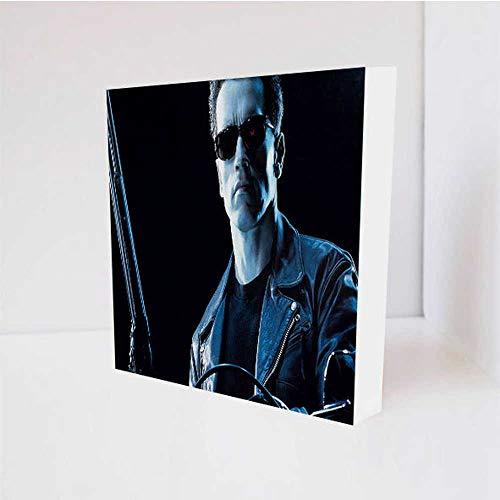 Quadro Decorativo - Arnold Schwarzenegger - Tag 16x16