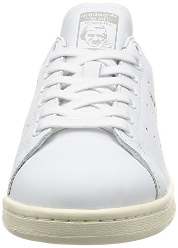 adidas Herren Stan Smith Sneaker Weiß (Footwear White/footwear White/clear Granite)