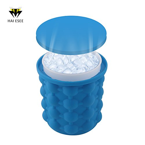 New Ice Cube Maker Genie Silicone Ice Bucket The Revolutionary Space Saving Ice Cube Maker Ice Genie Kitchen Tools