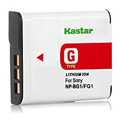 Kastar Npbg1 Batttery For Sony Np-bg1 Np-fg1 Npfg1 Type G Battery Pack & Sony Cybershot Cameras