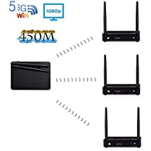 HD Wireless Transmission is a Wireless Transmitter for Home high-Definition Audio and Video Entertainment. 1 Transmitter and 3 Receiver, (1 Transmitter and 3 Receiver 450m Distance)