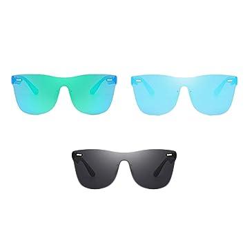 Amazon.com: MJTP Infinity Gafas de sol de colores ...